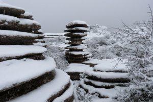 El Torcal de Antequera con Nieve